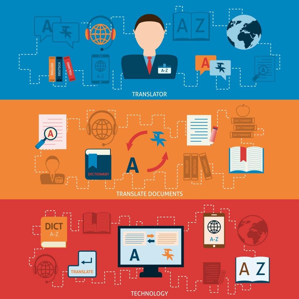 Piirroskuvassa henkilöllä on tulkittavanaan ajatuksia, tekstejä, kieltä jne formaatista toiseen. Työn määrä on suuri.